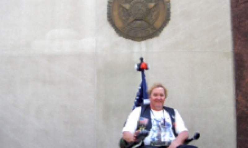 Crossing America in a wheelchair