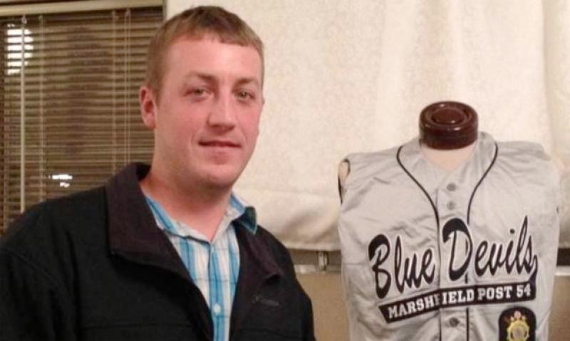 MLB player has Legion Baseball jersey retired