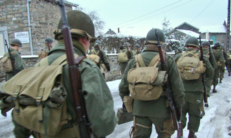 Battle of the Bulge routes retraced