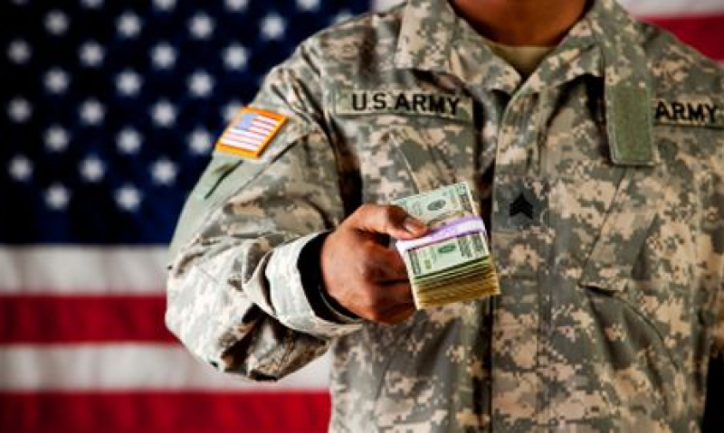 Image result for military millionaire