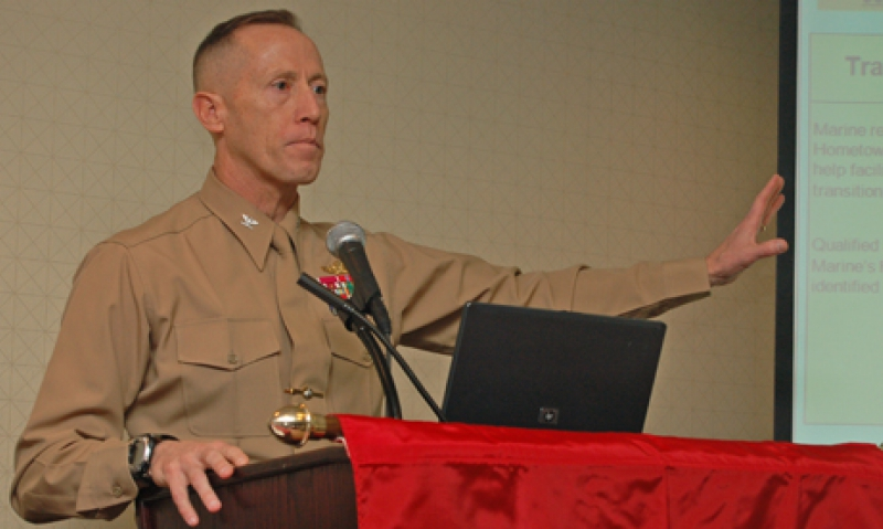 Networking vital for troops in transition