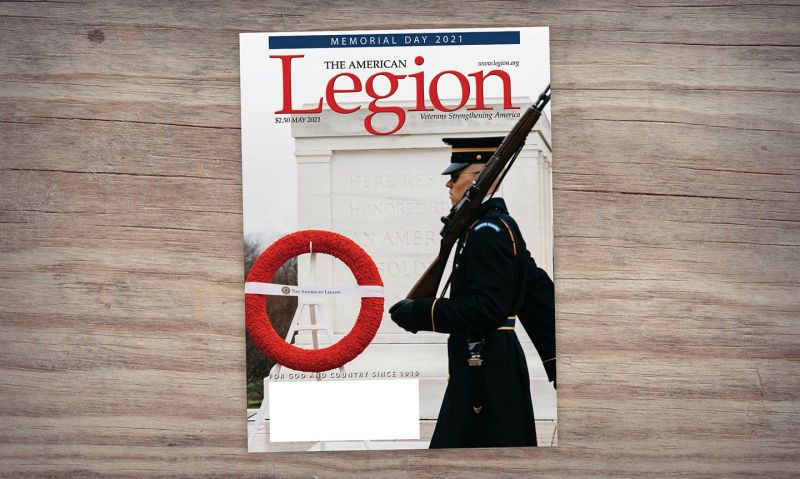 Tomb of the Unknown centennial, 'Faces of Margraten' and more in May American Legion Magazine