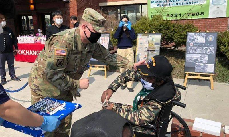 Vietnam War Veterans Day ceremony in South Korea
