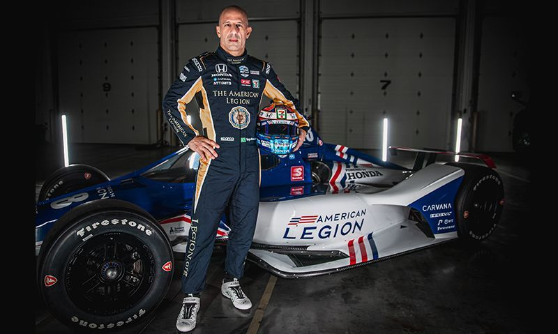 American Legion No. 48 car to make INDYCAR debut this weekend in Texas
