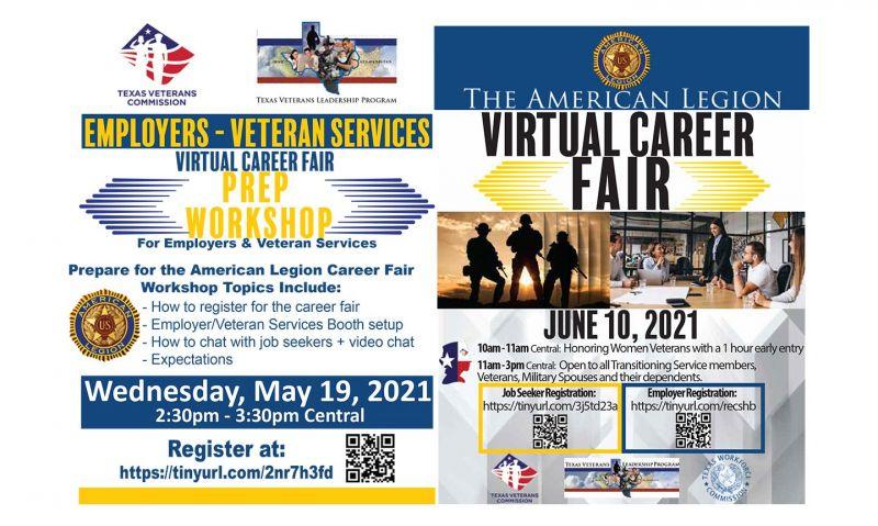 Virtual career fair set for June 10