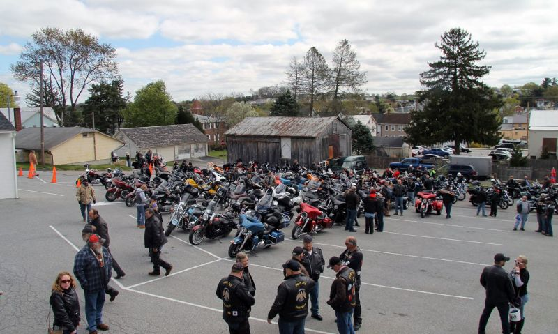 Raising $8,000 for police officer battling cancer one of the things Legion Riders chapter is doing in Pennsylvania