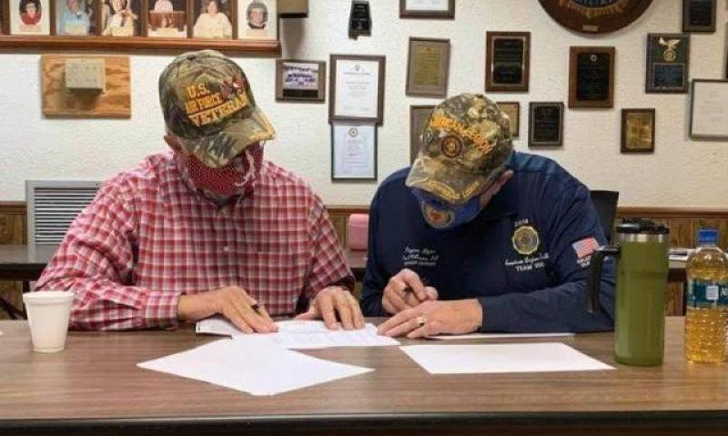 Buddy Checks 'something I felt I needed to do' for Alabama Legionnaire