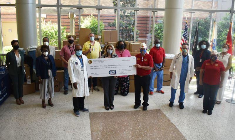 American Legion grant supports visually impaired, homeless veterans