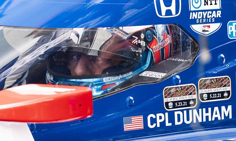 Tony Kanaan to honor Medal of Honor recipient during Indy 500
