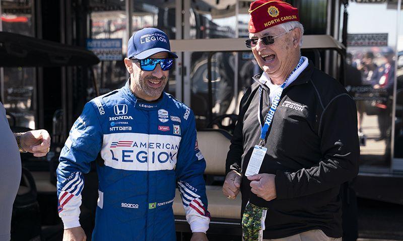 National Commander Oxford: American Legion move into racing 'a top-flight move'