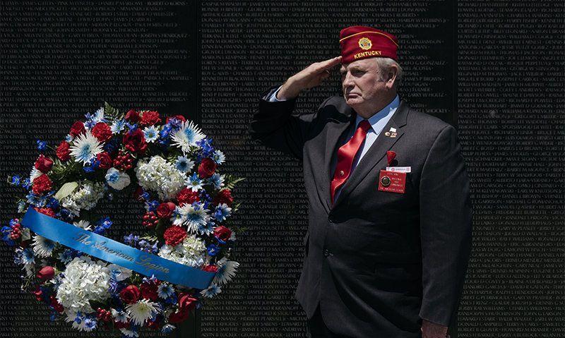 Fallen servicemembers remembered at Vietnam Veterans Memorial