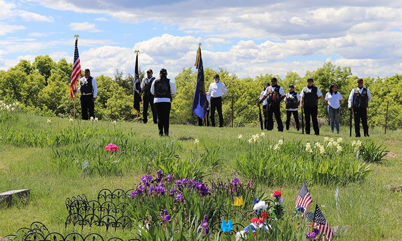 Ceremonies, parades and 22 cemeteries in one day: How the American Legion Family honored Memorial Day