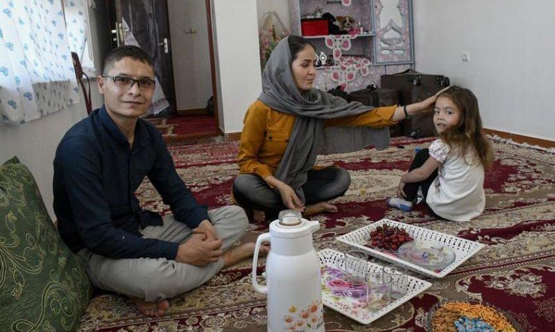 Afghan pilot once denied refuge arrives in America after months inhiding