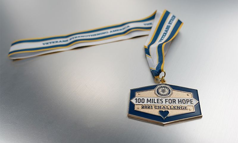 100 Miles medals are on their way