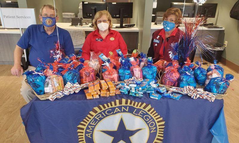 Back volunteering in VA facilities 'wonderful' for Legion Family members