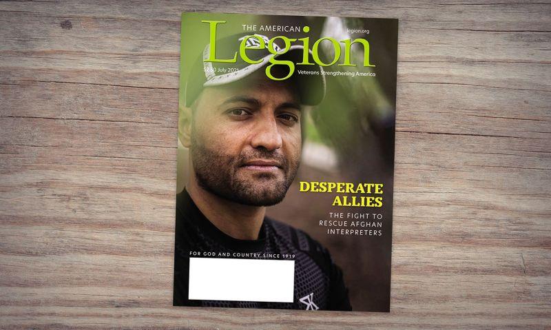 July American Legion Magazine highlights effort to rescue Afghan interpreters