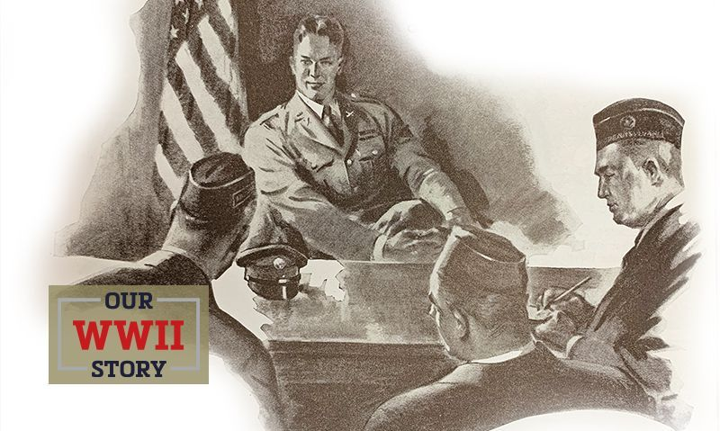 OUR WWII STORY: The 'two-war Legion'