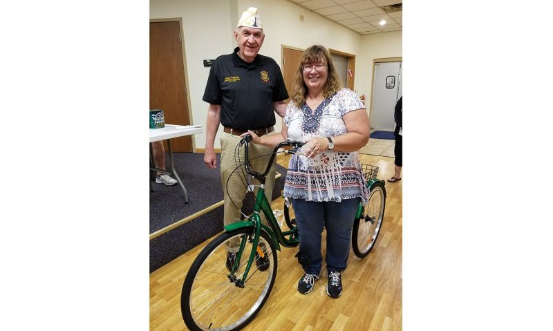 New bike helps disabled veteran exercise, enjoy the outdoors