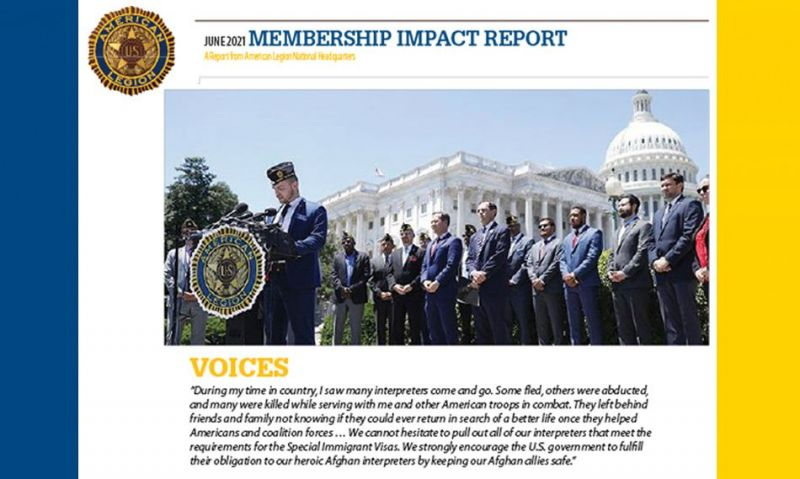 June Impact Report: White House responds to Legion call for action