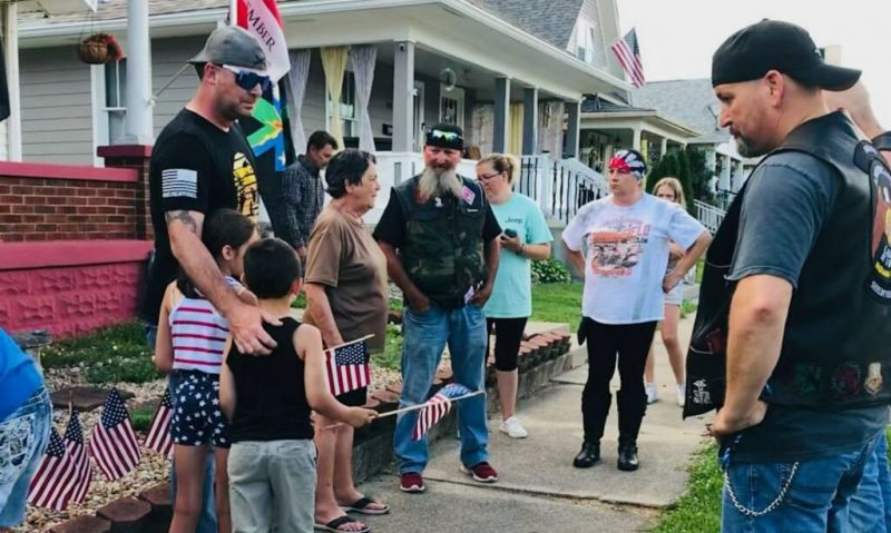 American Legion Riders chapter continues to honor, support Gold Star mom