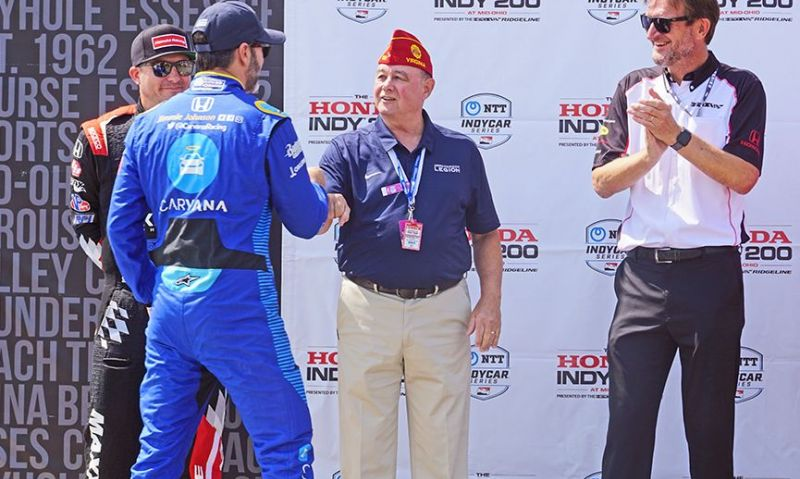 PNC Dellinger enjoys weekend at Mid-Ohio, Legion's relationship with INDYCAR