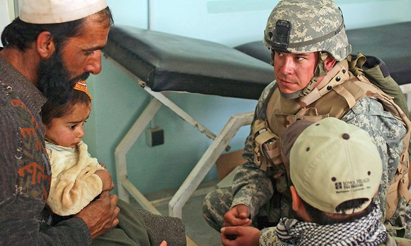 Abandonment of Afghan interpreters is an issue of life or death