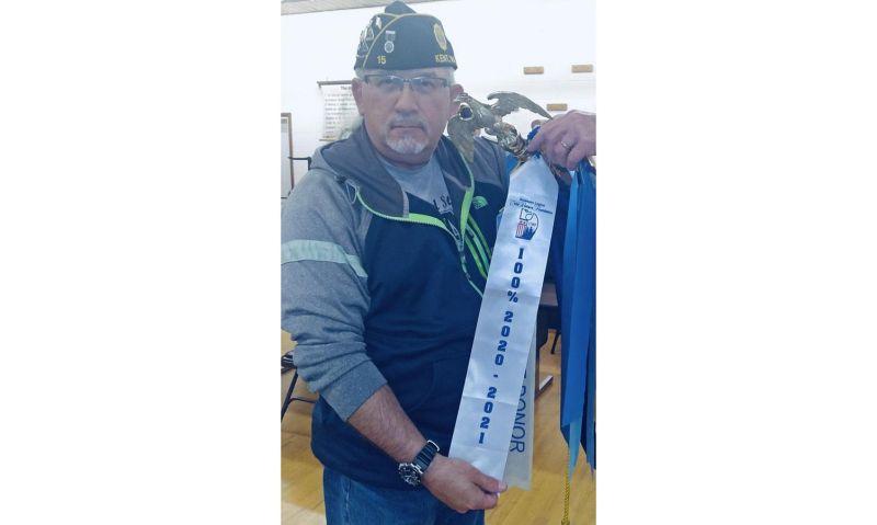 $1 per member earned Legion post CWF 100 percent banner