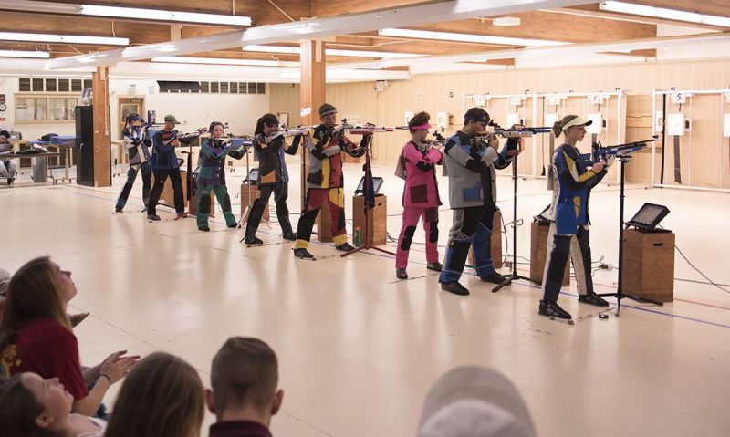 Follow coverage of Legion's youth air rifle championship