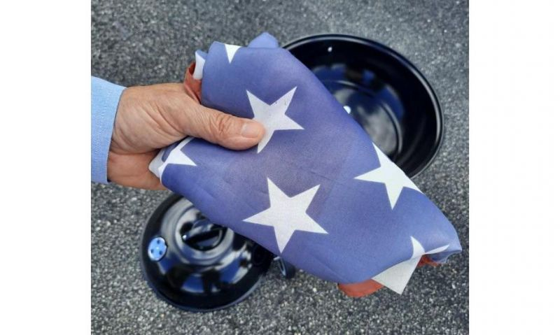 U.S. flag reminds veteran of those who didn't come home
