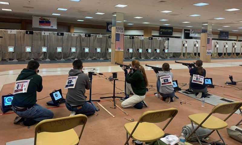 Air rifle competitors thankful for a second chance