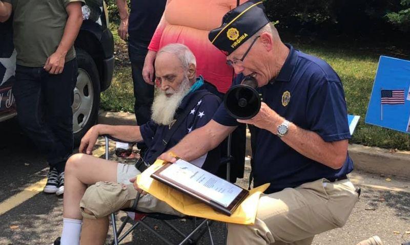 Virginia Legion Family honors a fellow comrade