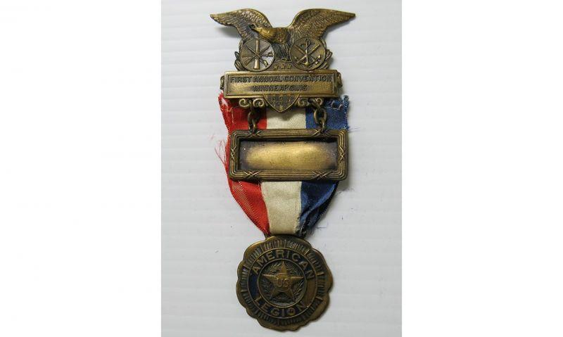 Online exhibit showcases Legion convention badges