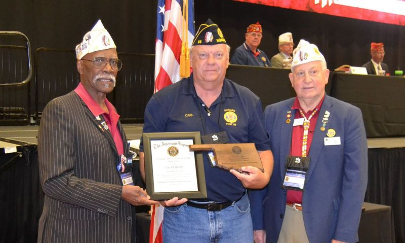 Oklahoma Legionnaire honored for service during pandemic