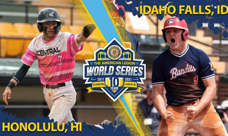 Idaho vs. Hawaii in 2021 ALWS championship game