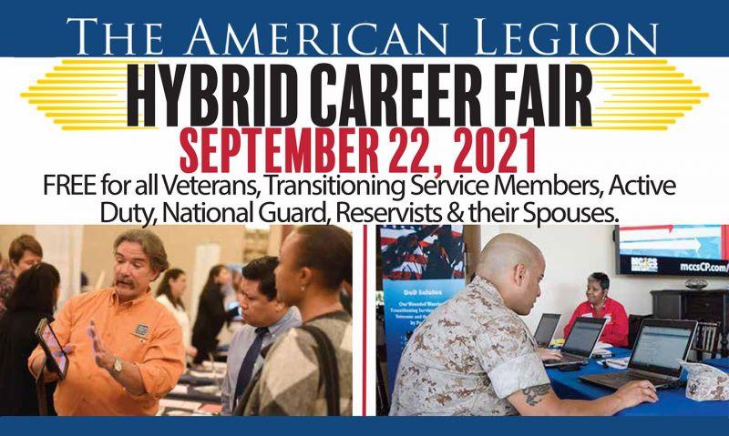 Hybrid career fair set for Sept. 22