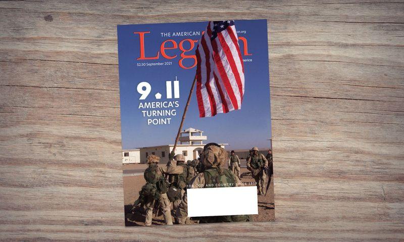 A salute to post-9/11 veterans in September's American Legion Magazine