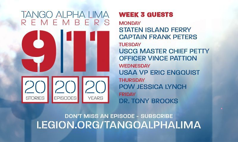 Jessica Lynch highlights guests on special 9/11 podcast series