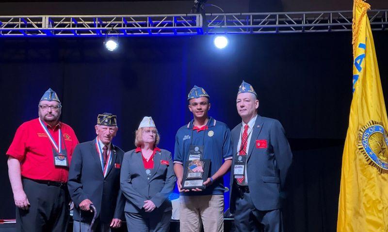 Massachusetts Son receives inaugural Marvin P. Nay Award