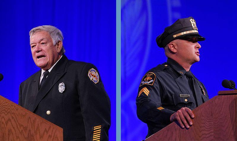 Nebraska police sergeant, Pennsylvania firefighter honored in Phoenix