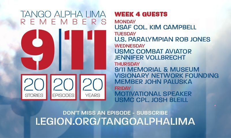 Special 9/11 podcast series finishes strong this week