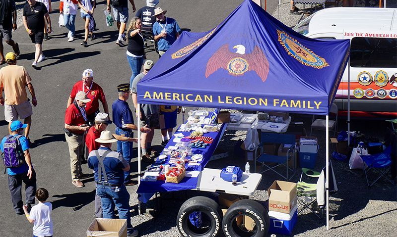 Oregon American Legion Family activates to support racing program.