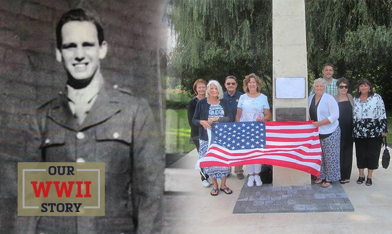OUR WWII STORY: Monument in France dedicated to fallen American soldier