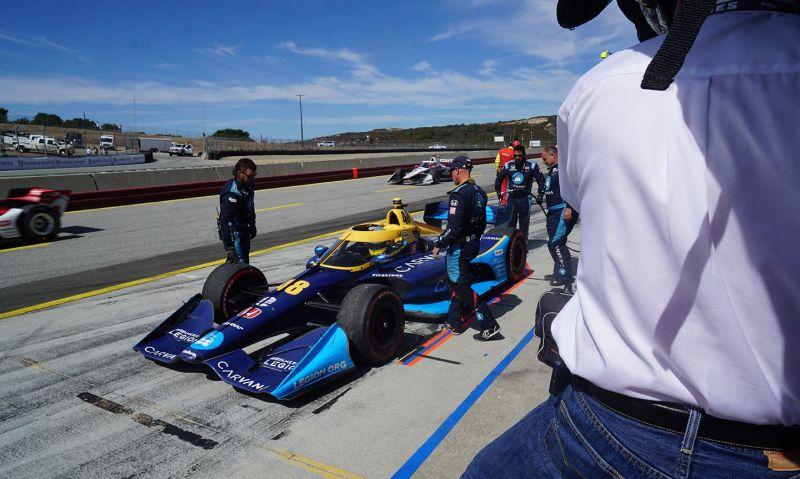 Johnson to finish INDYCAR season where racing dreams started