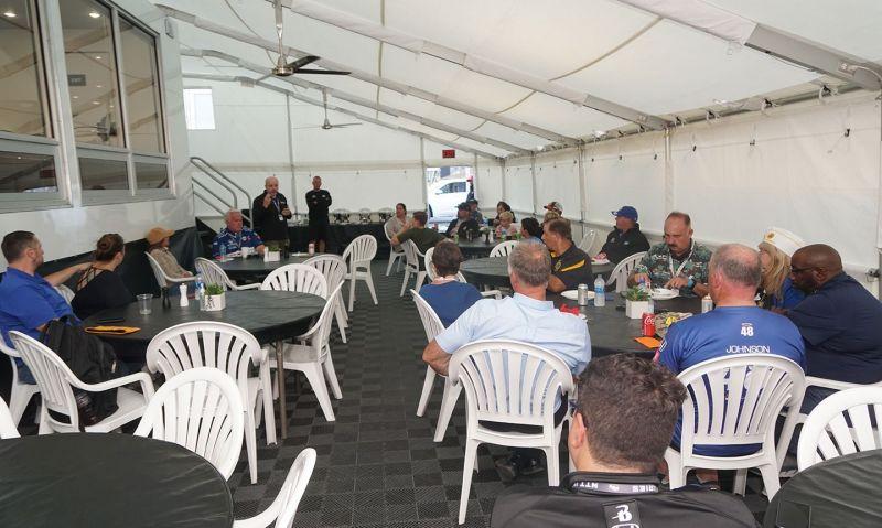 California Legionnaires get briefing on Legion Racing efforts