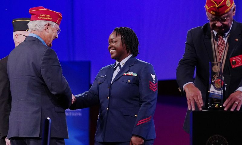 Award recipients from 102nd National Convention