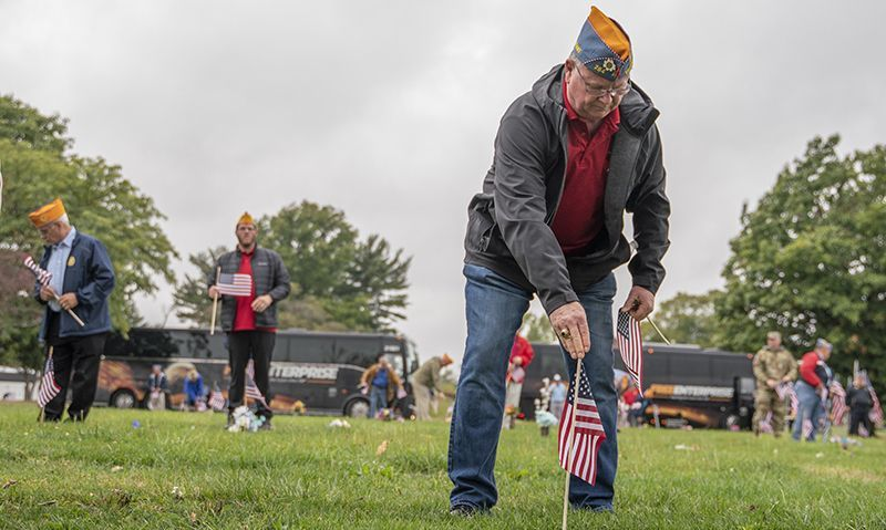 'We want to make sure that our veterans are never forgotten'