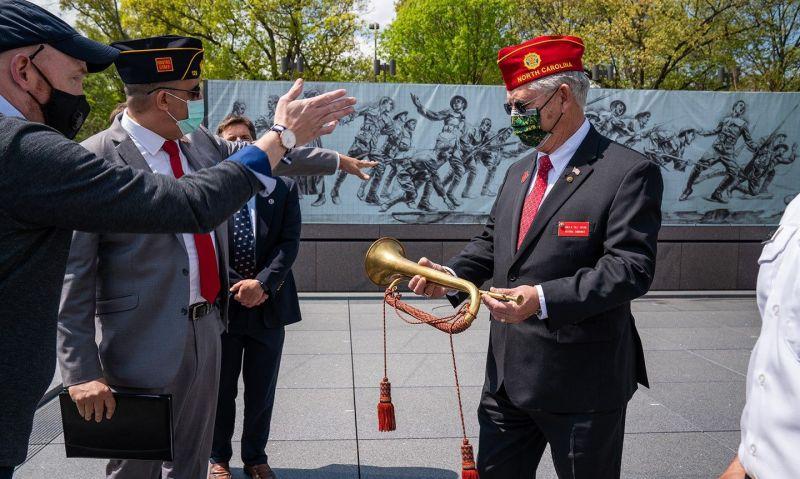 Virtual ceremony, flag-raising mark opening of National World War I Memorial