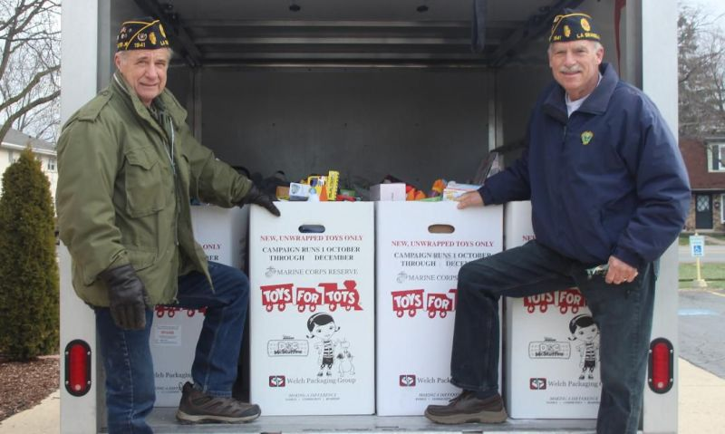 Legion Family delivers the spirit of giving in a much-needed time