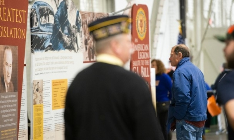 Legion centennial honored at CNY Veterans Expo
