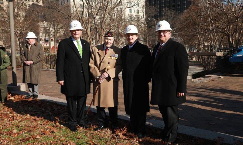 D.C. World War I memorial marks start of construction